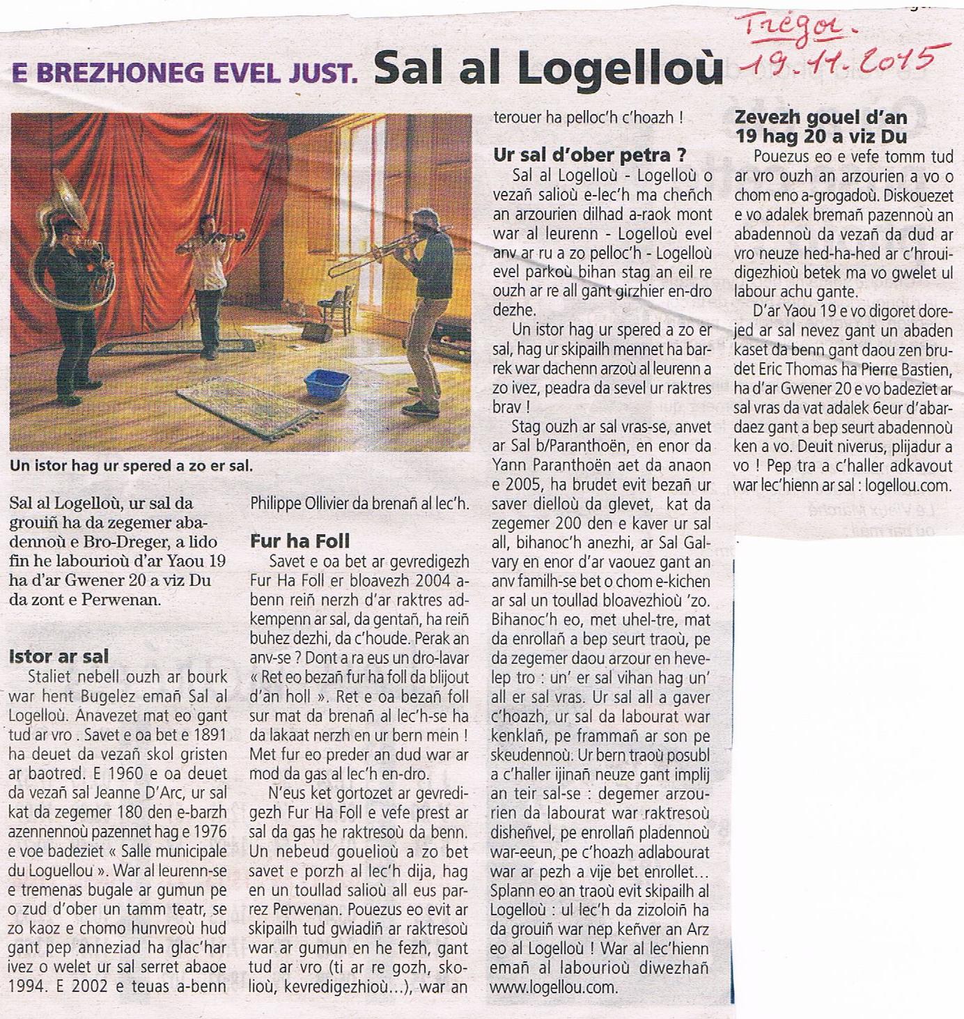 20151119 - Le Tregor