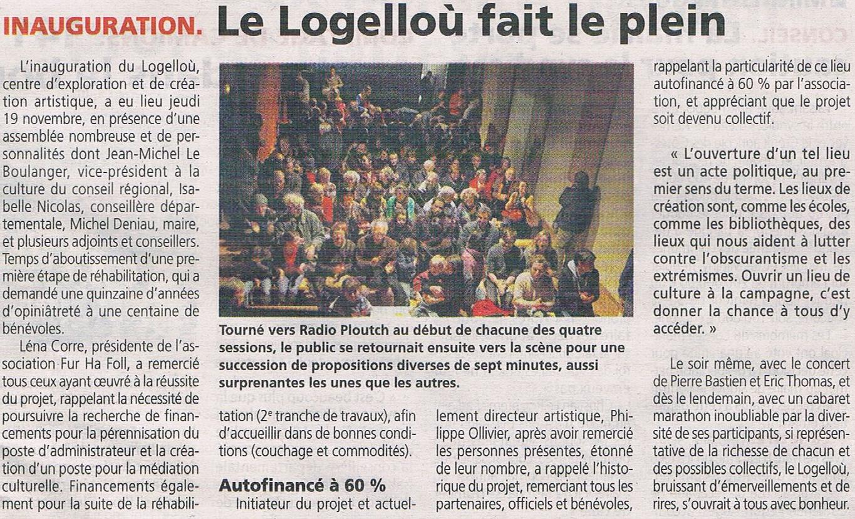 20151126 - Inauguration - Le Trégor